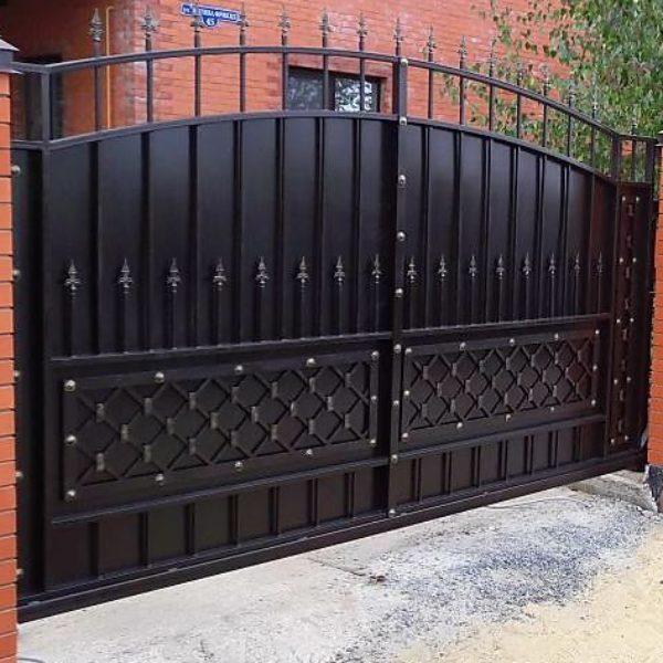 Кованные ворота на заказ