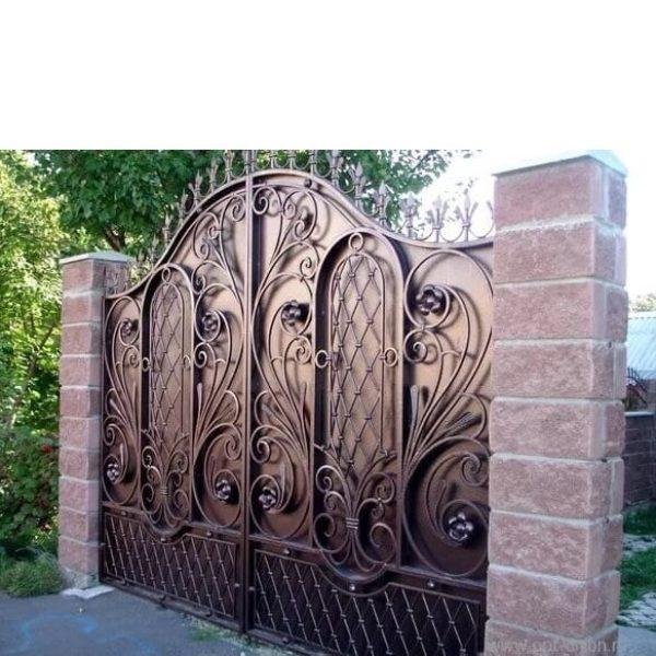 Распашные ворота в Ростове